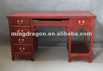 Antique Chinese Furniture Wooden Computer Table