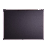 60*90CM Wholesale Kids Magnetic Sign Writing Black Chalk board in Aluminum Frame