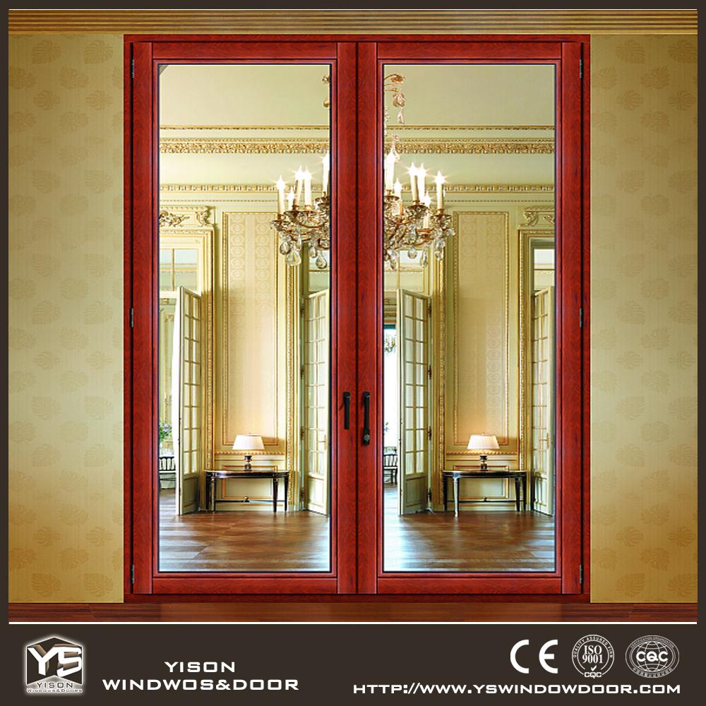 Lowes Exterior Wood Doors French Aluminium Wood Door Buy