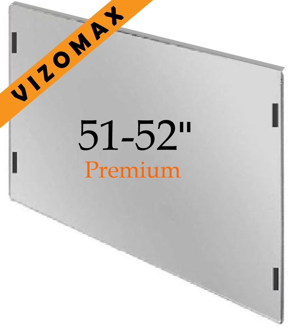 51 - 52 inch Vizomax TV Screen Protector for Monitor and LCD, LED & Plasma Flat Screen HDTV