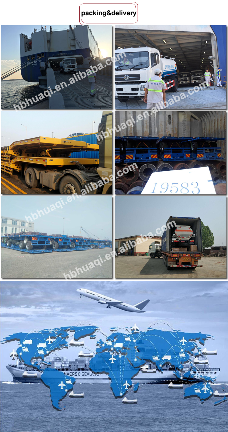 Light duty total weight 4 tons stake box cargo truck