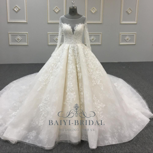 Crystal Ball Gown Wedding Dress Wholesale 409e426b0cb5