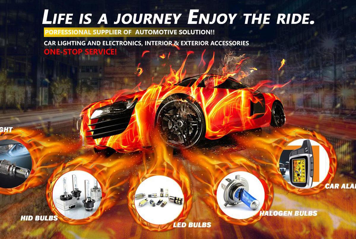 Guangzhou Laxthon Auto Accessories Co Ltd Car Lighting Headlight Alarm System