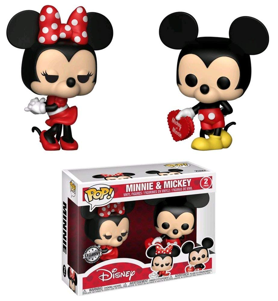 Mickey Mouse and Minnie Mouse Pop! Vinyl 2-Pack -Toys RUs Exclusive