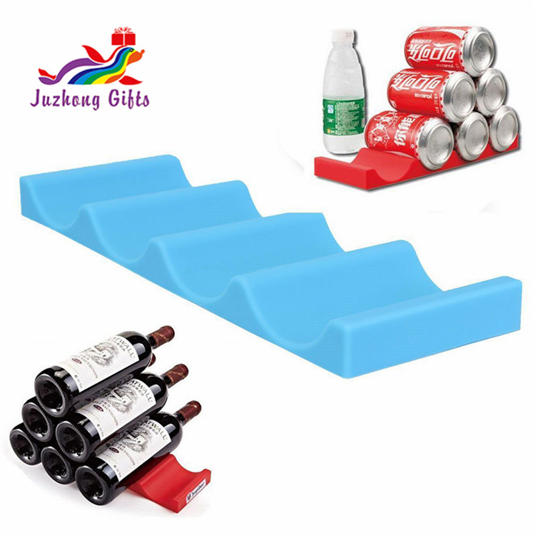 Wholesale silicone stacker/rubber wine bottle holder