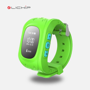 cheap wearable android baby child wrist kids watch smart sos panic button watch gps tracker