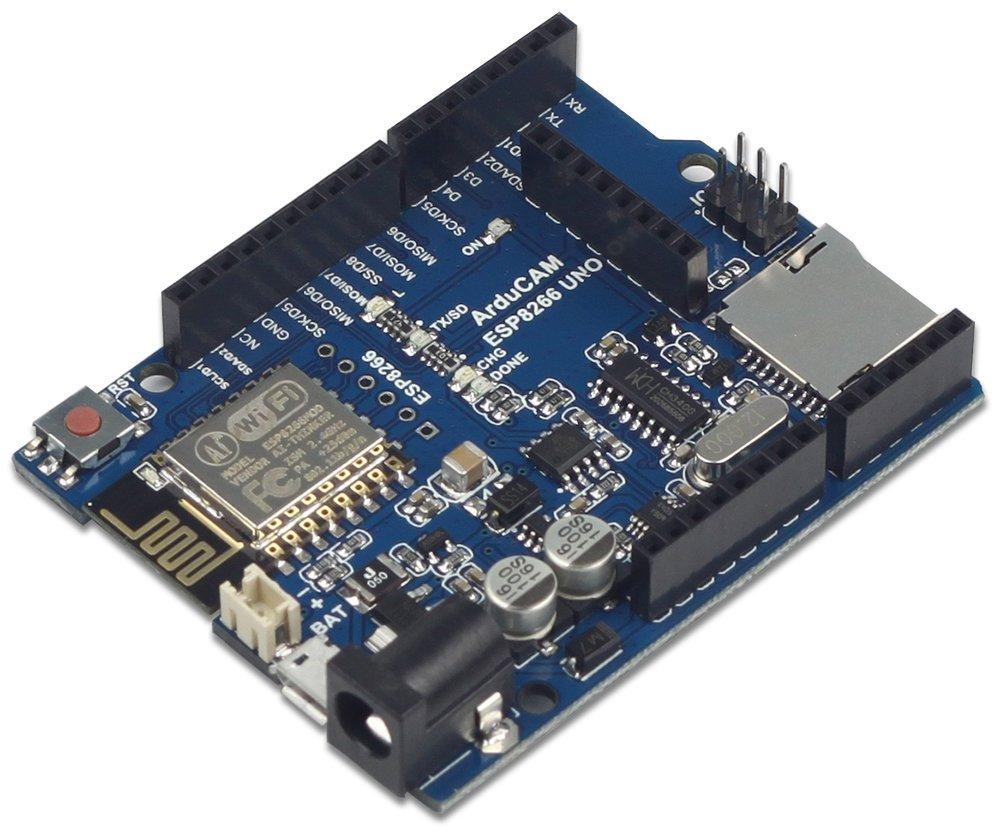 Arducam ESP8266 UNO Board for Arduino Mini Module Camera Shield Compatible with Arduino UNO R3