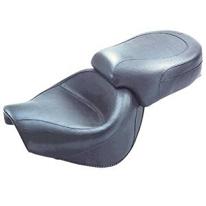 Mustang Vintage Wide Touring 2-Piece Seat for Yamaha 1999-2014 Road Star 1600/1 - One Size
