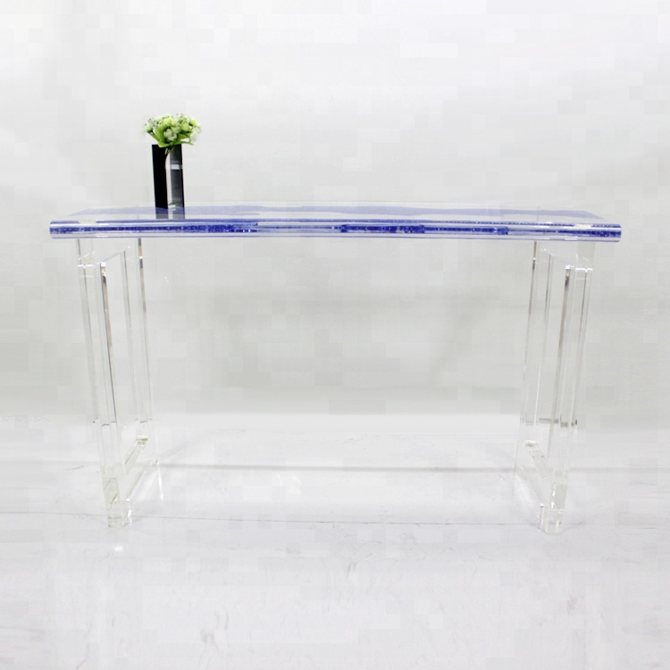 2018 Hot sale acrylic desk, acrylic dining <strong>table</strong> for wedding