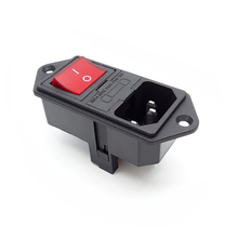 Top quality AC-01A inlet panel 실장 (smd, smt rocker switch 와 두 번 fuse holder 및 힘 커넥터 ac socket <span class=keywords><strong>emi</strong></span> 허니 콤 <span class=keywords><strong>필터</strong></span>