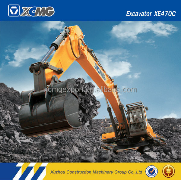 XCMG official manufacturer XE470C 45ton crawler hydraulic excavator for sale