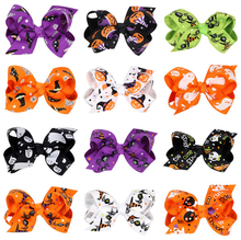 Newest product cheap fashion ribbon flower headbands for baby girls