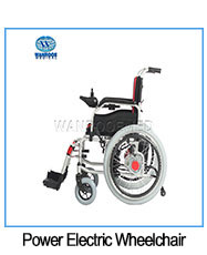 医療病院鋼軽量車椅子手動車椅子患者
