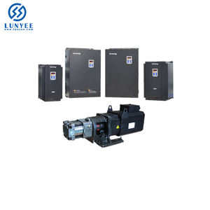 PLC Control Ac Servo Motor 50KW With With Controller For Injection Machine