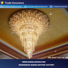 zhongshan led lights crystal tea light chandelier