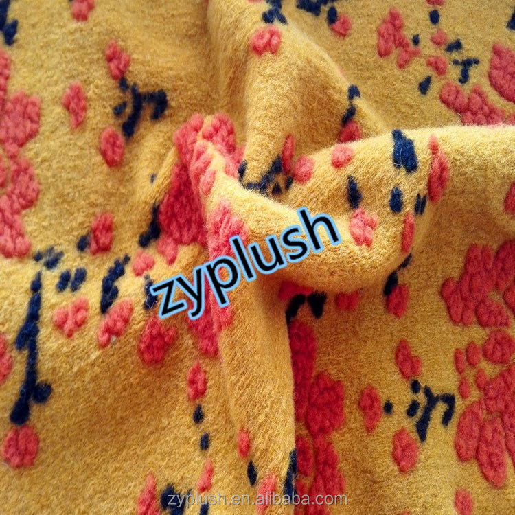 FY130573-2 Knitting Wool Fabric for Winter Coat Designs for Fashion Wear
