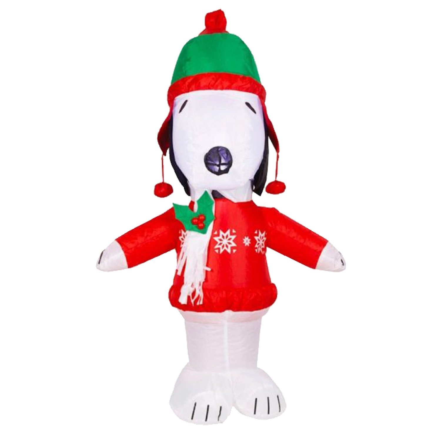get quotations snoopy airblown inflatable - Snoopy Blow Up Christmas Decorations