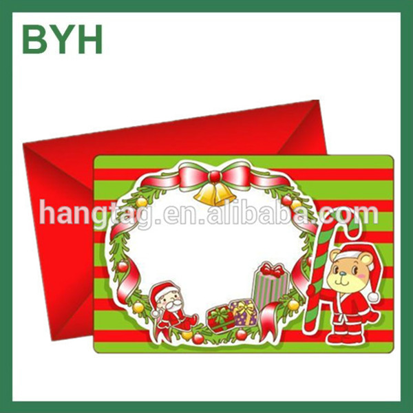 new design creative Christmas paper envelope