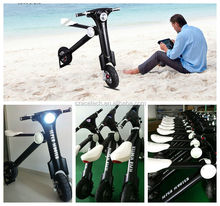 New design ET bike foldable 350w 500w for adults, leisure pocket bike for outdoor sports