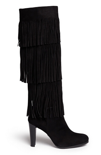 2afd02f0e106e Get Quotations · Size 35-42 Over knee high boots 2015 autumn/winter new  arrivals tassel boots