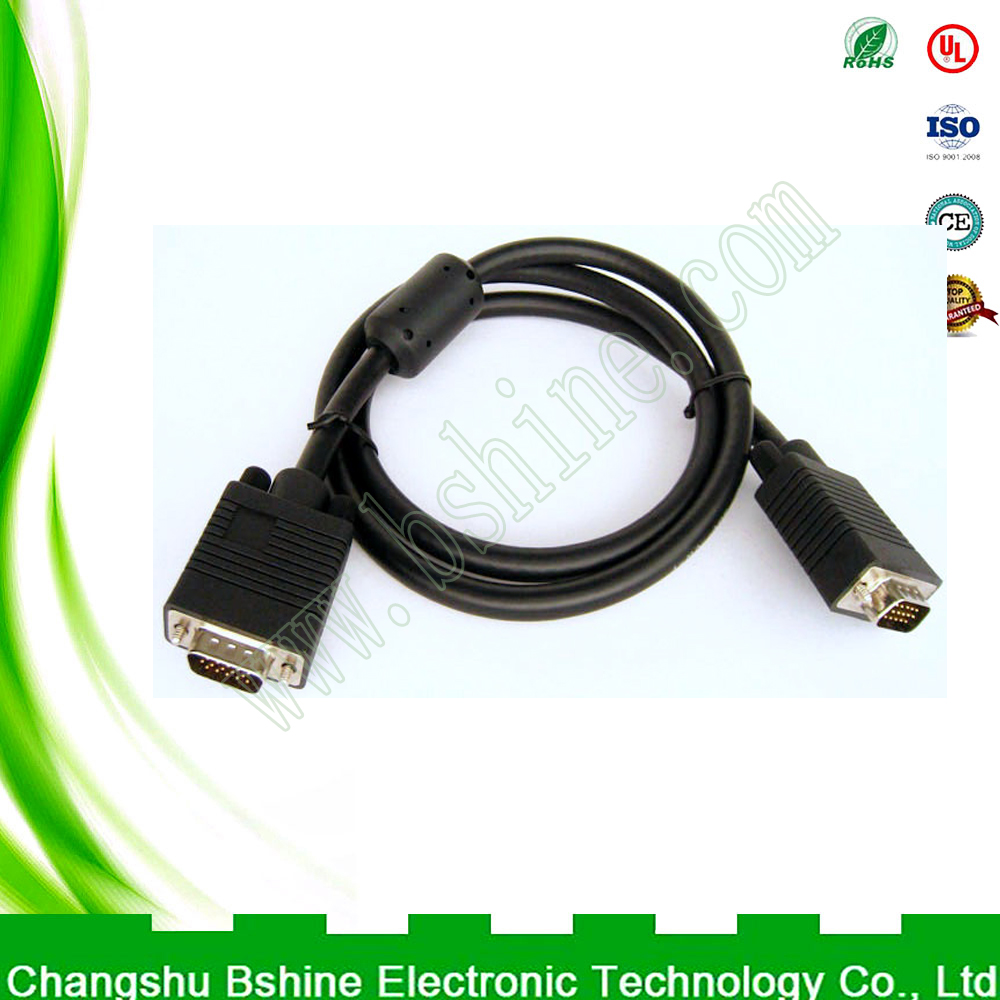 Wiring harness manufacturer produces custom vga to hdmi cable