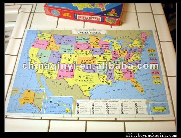 Map Of The USA Jigsaw Puzzle Mr Printables Printable US Map - Usa map jigsaw puzzle