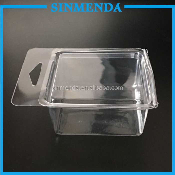 Custom Clear clamshell blister packaging , Blister plastic clamshell packaging golf balls box