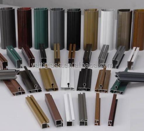 Haute Brillance Surface Horizontale Profil En Alliage Daluminium Ou