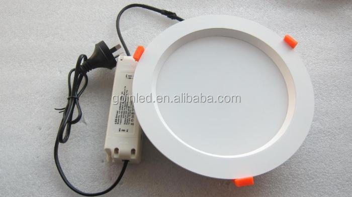 8inch 200mm cutout 30W led downlight 230v dimmable led down light
