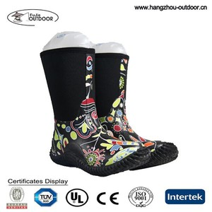 2015 Warm Winter Waterproof Muck Boots For Kids Manufacturer