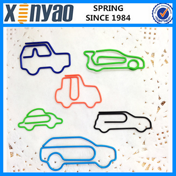Factory price fancy different kinds shape car shape paper <strong>clip</strong> unique paper <strong>clips</strong>