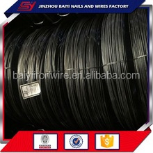 China 2016 new products Black drawing iron wire