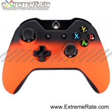 Front Housing Soft Touch Shawdow Orange cover case for xbox one controller
