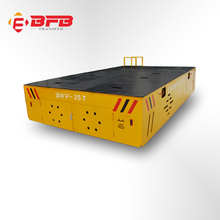 self driven v deck bogie round material transportation cement ground