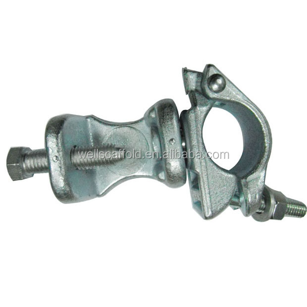 heavy duty EN74 standard scaffolding fixed/swivel beam clamp