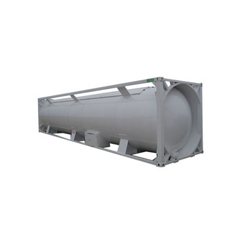 China GB Standard 40' 51m3 LPG 20.91 tons Propane lpg pressure vessel tank container