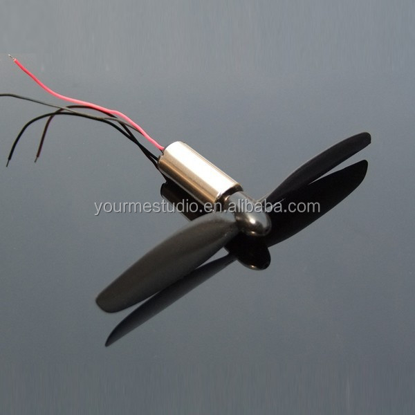 Model aircraft motor 8.5 * 20MM super motor+propeller 8520 coreless motor