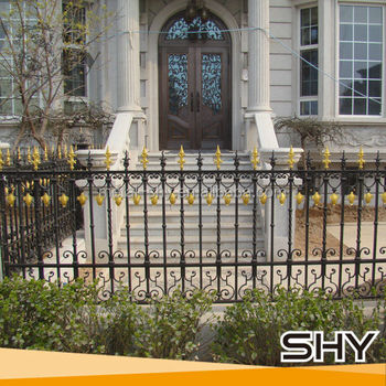 Wrought Iron Fence Panels By China Casting Manufacturer