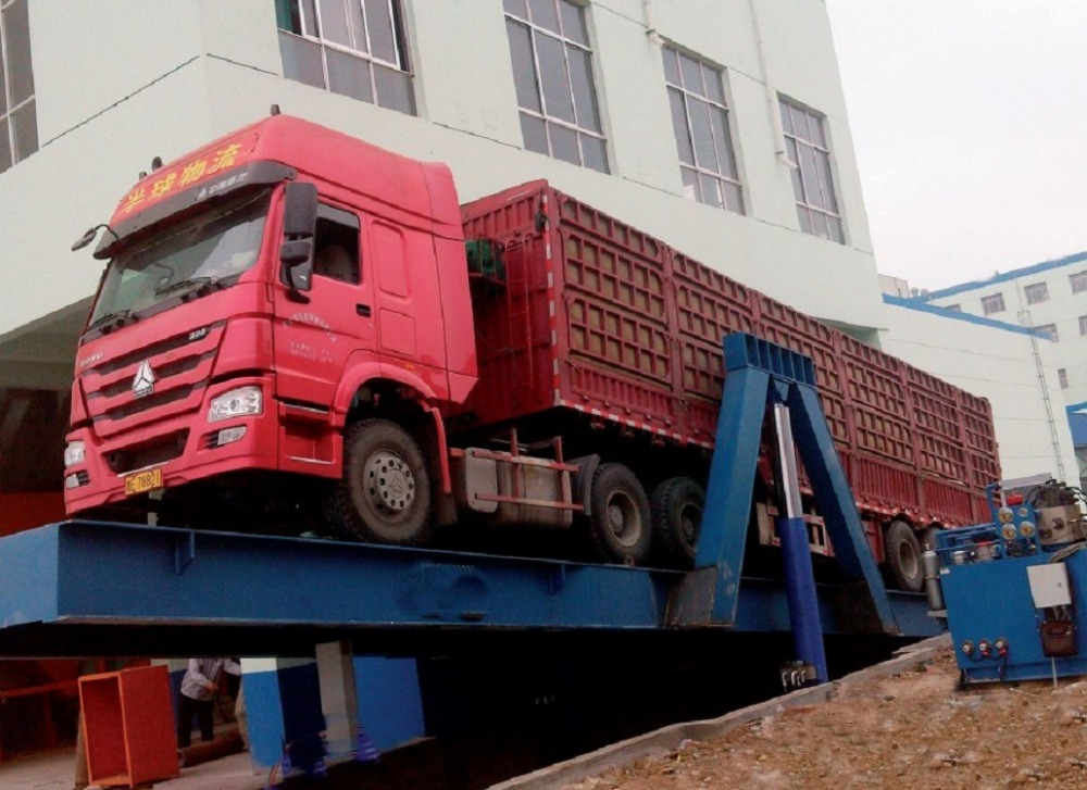 Container Loading And Unloading Ramp /truck Loading Platform/hydraulic  Container Unloading Machine - Buy Container Loading And Unloading  Ramp,Truck