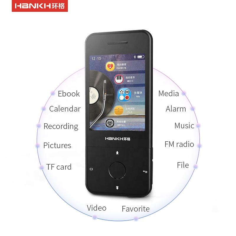 משלוח להוריד האסלאמי טמילית יום הולדת שירים 2.4 אינץ מגע כפתור גדול מסך FM רדיו mp5 mp4 mp3 נגן