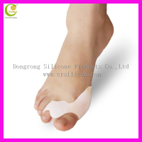Bunion hallux valgus correction silicone toe sponge toe separator,bunion protection for little toe