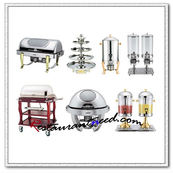 Fournitures de buffet de luxe d 39 h tel quipement de for Equipement hotellerie restauration