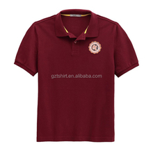 2017New design Style Cheap Polo Collar T Shirt With print Logo