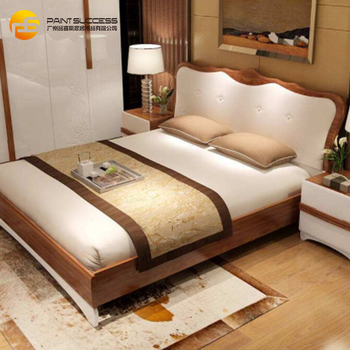 Custom Nordic Modern Minimalist Solid Wood Ash Wood Bed Master Bedroom Double Bed Buy Double Nordic Design Wood Bed Design Nordic Furniture Product