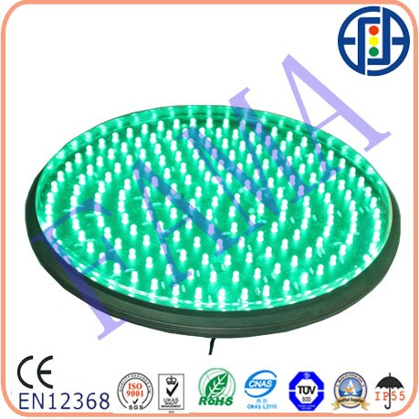 300mm clear lens dotted traffic light lamp