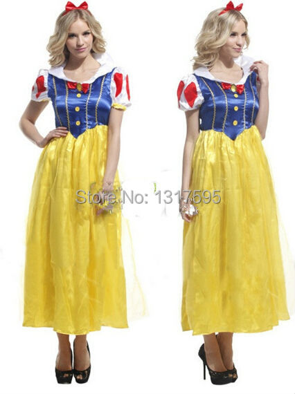 Get Quotations · Free shipping Discount Carnival Snow White Princess  costumes 5246c3dfd660