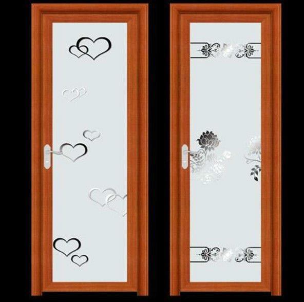 Aluminio ba o dise os de puertas de vidrio esmerilado for Disenos de puertas de aluminio para bano