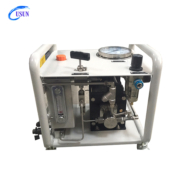 Cheap USUN Model:US- AH40 200-300 Bar High pressure pneumatic chemical injection pump unit