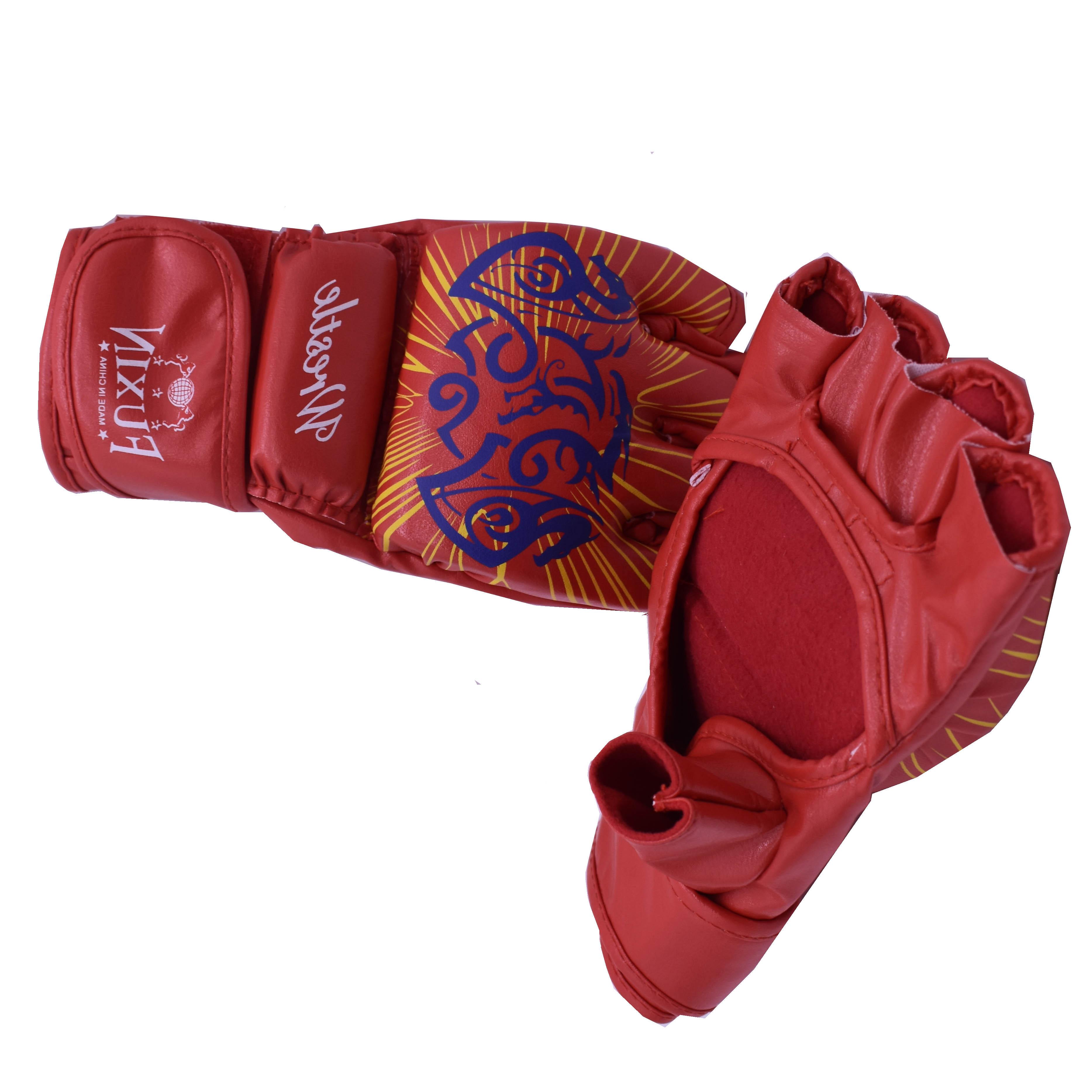 фото боксерских рукавичек красном