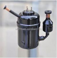 DC 24V micro hermetic portable rotary R134a small refrigeration mini compressor